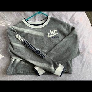 Nike Crop Reversible Sweater